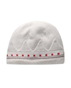 Purebaby有機棉針織帽-灰色混色
