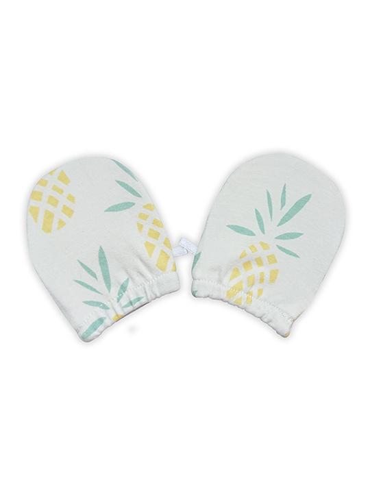 Deux Filles有機棉嬰兒手套