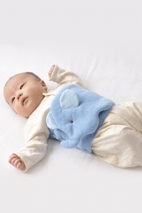 妖精之森-造型肚圍-藍色大象