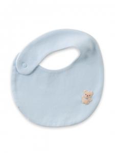 妖精之森-嬰兒圍兜-藍色小熊