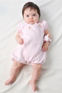 妖精之森-紗布蝴蝶衣-粉紅純色