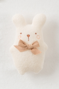 Amorosa Mamma-安撫娃娃-白色兔子