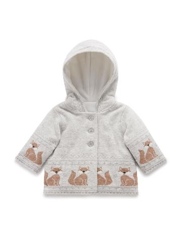 Purebaby有機棉針織鋪棉外套