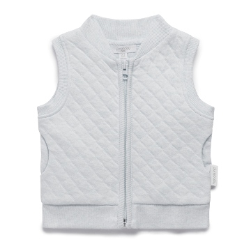 Purebaby有機棉保暖鋪棉背心