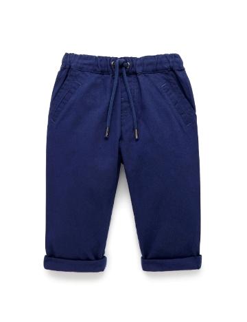 Purebaby有機棉休閒長褲-12M~3T