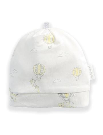 Purebaby有機棉嬰兒帽3-12月