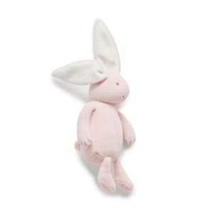Purebaby有機棉兔子安撫玩偶-粉紅色