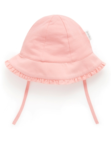 Purebaby 有機棉遮陽帽