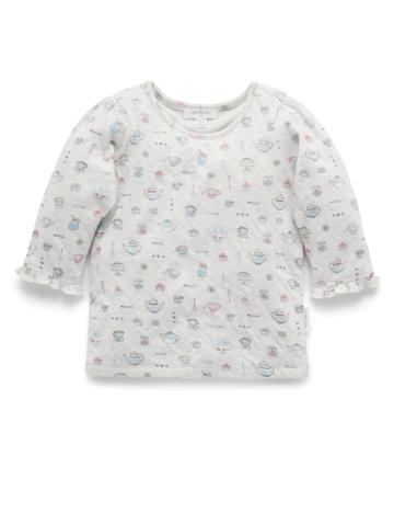 Purebaby有機棉長袖上衣-12M~4T