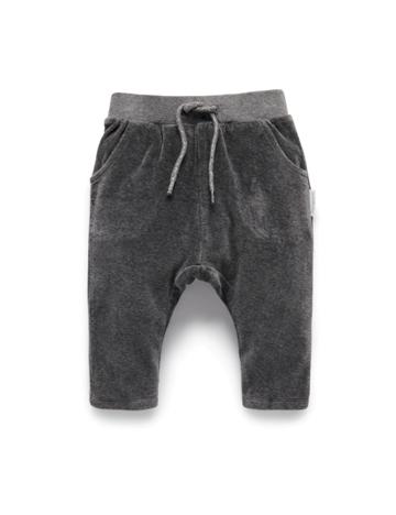 Purebaby有機棉絨布運動褲-12M~4T