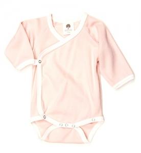kate quinn 有機棉包屁衣-淡粉紅色