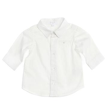 Purebaby有機棉嬰童長袖襯衫