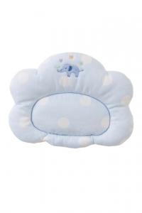 妖精之森-嬰兒睡枕-藍色小象