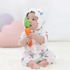 Merebe嬰兒連身裝-櫻桃圖案