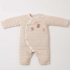 Amorosa Mamma有機棉連身裝-小熊刺繡
