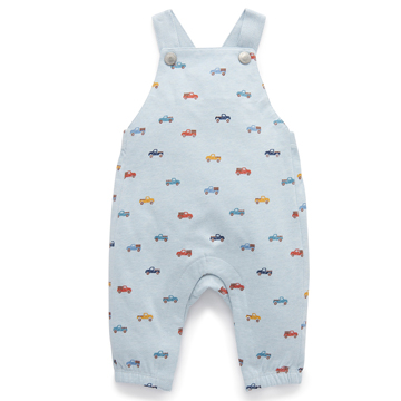 Purebaby有機棉嬰童吊帶連身裝