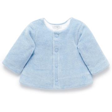 Purebaby有機棉嬰童絨面外套