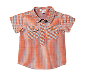 Purebaby有機棉襯衫