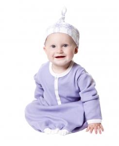kate quinn有機棉睡袍-淡紫色