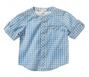 Purebaby  有機棉格紋襯衫