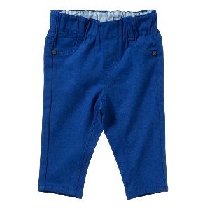 Purebaby  有機棉緊身牛仔褲-單寧色