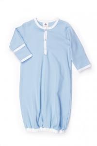 kate quinn有機棉睡袍-天空藍