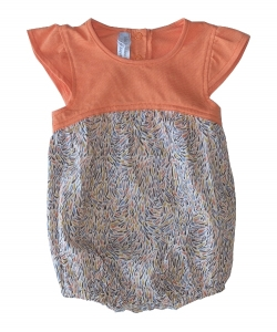 Les Petites Choses有機棉連身裝-莫內圖